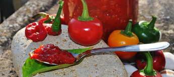Crema di peperoncini piccanti