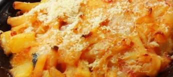 Pasta e patate al forno Aiello